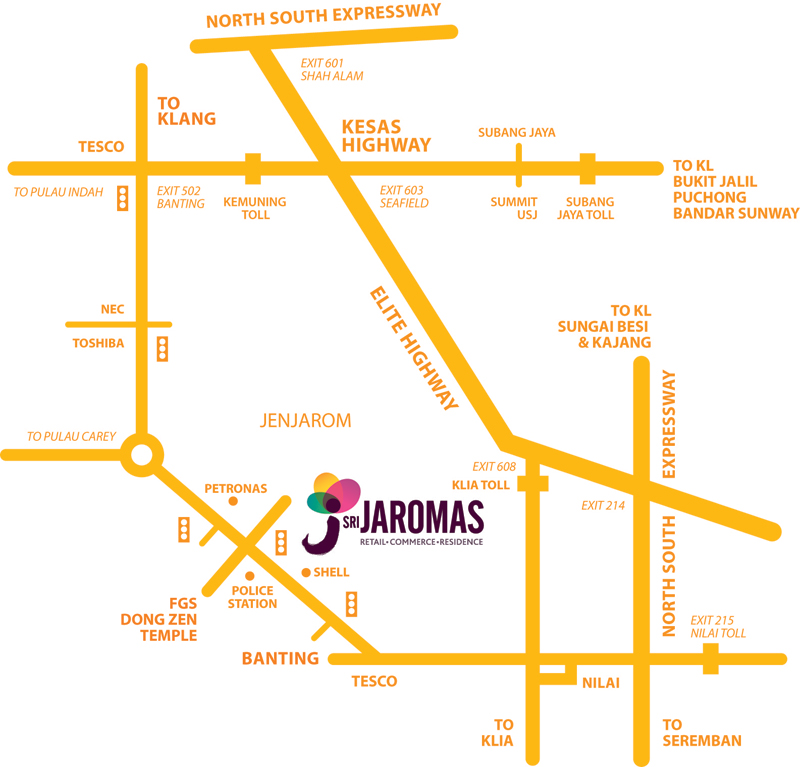 Sri-Jaromas-Location-Map